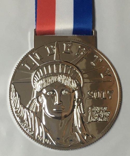 Liberty Run 2017 Medal