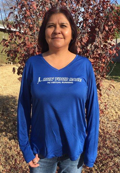 Run Your Race Long Sleeve Tech Shirt - Women