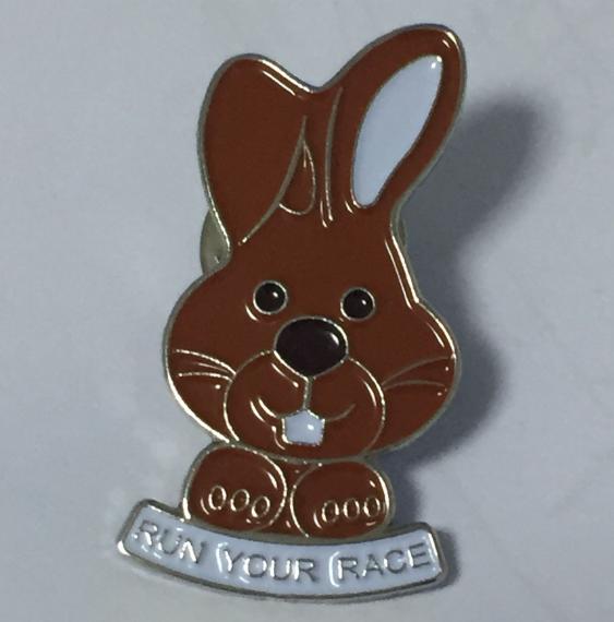 Chocolate Bunny Pin 2017
