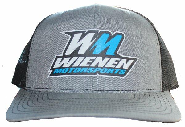 WM Grey & Black Hat
