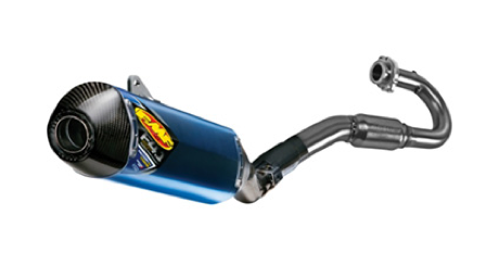 FMF Factory 4.1 RCT Anodized Full FMF System - Carbon End Cap