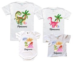 Special Watercolor -Dino Family