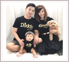 Foil Gold Family Love