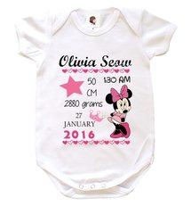 Minnie Mouse Birth Cert