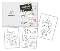Back to school- Colouring Book