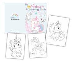Pastel Unicorn Colouring Book
