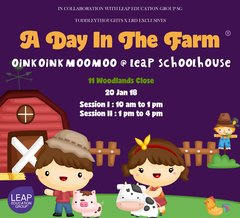 A day in the Farm at LEAPschoolhouse (20 Jan)