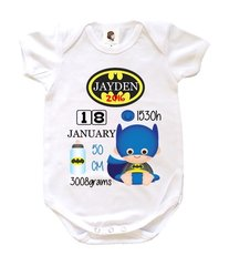 Batman-Girl/Boy Birth Cert