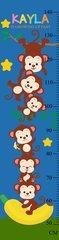 Climbing Monkey Growth Chart