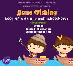 Gone Fishing at LEAPschoolhouse (27 Jan)