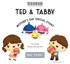 **Mother's Day Special Shark-Thematic Event - [28 Apr]