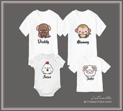 Kawaii Zodiac Family