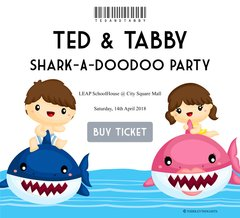 **Shark-A-Doodoo Event - Ted&Tabby Go Around [14 Apr]