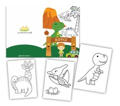 Dinosaurs- Colouring Book