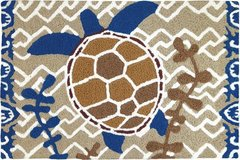 Brown and Blue Turtle