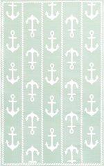 Anchor – Aqua/White