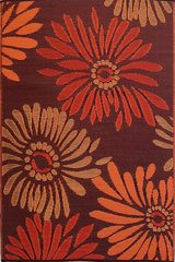 Daisies – Rust/Red