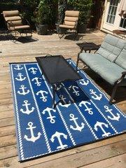 Anchor – Blue/White