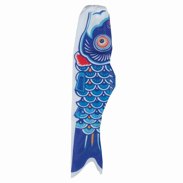 "Koi Windsock 36"" Blue"