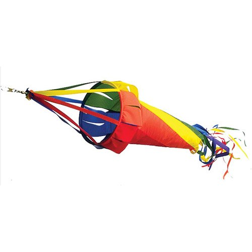Spinsock by Premier Kites Rainbow 78""