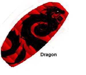 "42""Thunderfoil Dragon by New Tech Kites"