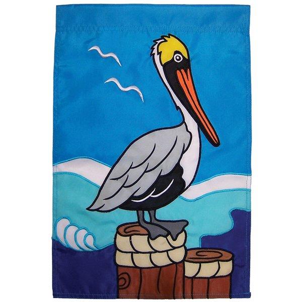 Pelican Applique Banner
