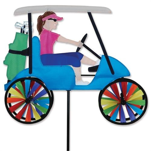 Golf Cart Lady Spinner by Premier