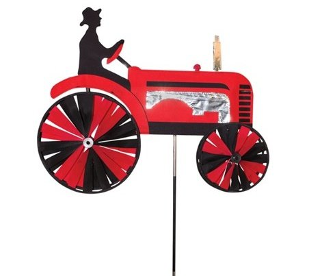 Red Tractor Spinner