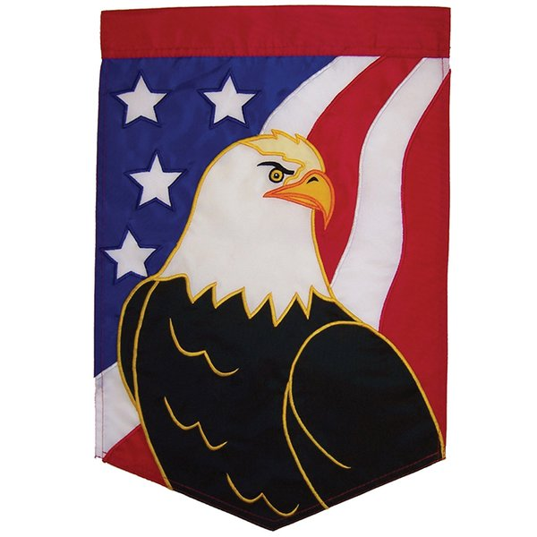Eagle Applique Garden Banner