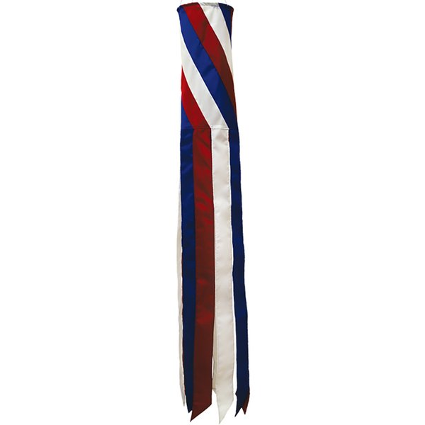 "Diagonal Patriotic 40""Windsock"