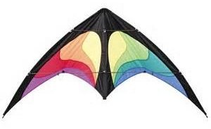 Yukon Stunt Kite by HQ Kites Rainbow