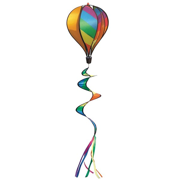 Hot Air Balloon Spinner Rainbow