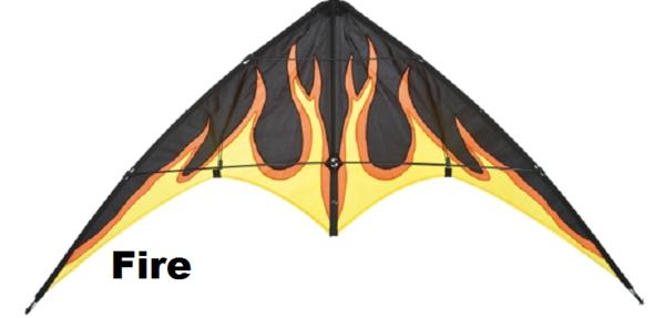 BeBop Fire by HQ Kites