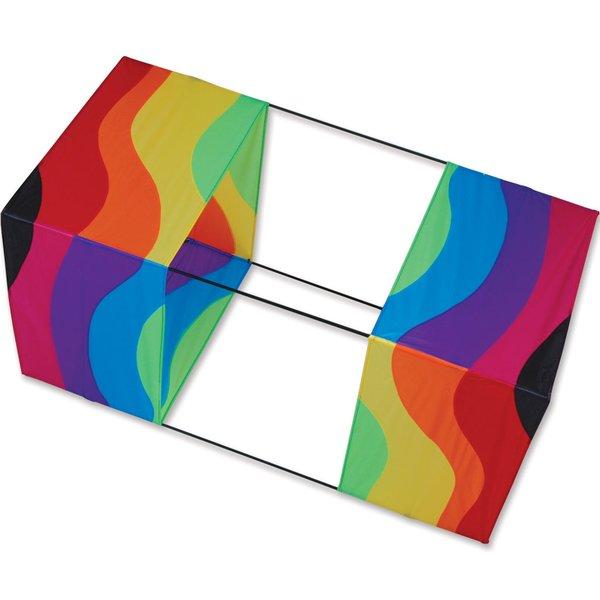 40 in. Box Kite - Wavy Rainbow by Premier