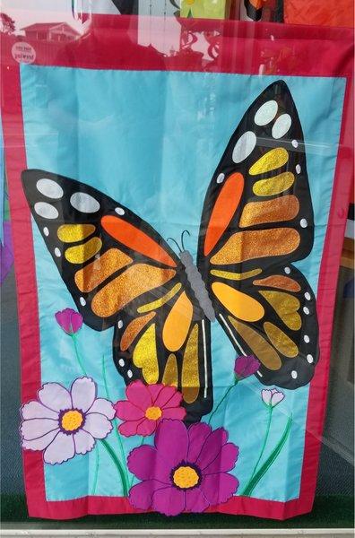 Butterfly Garden Flag