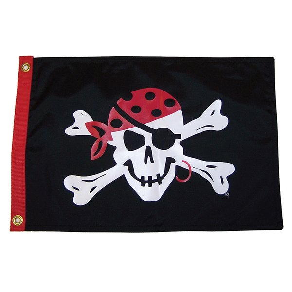 One-Eyed Jack 3x5 Grommet Flag