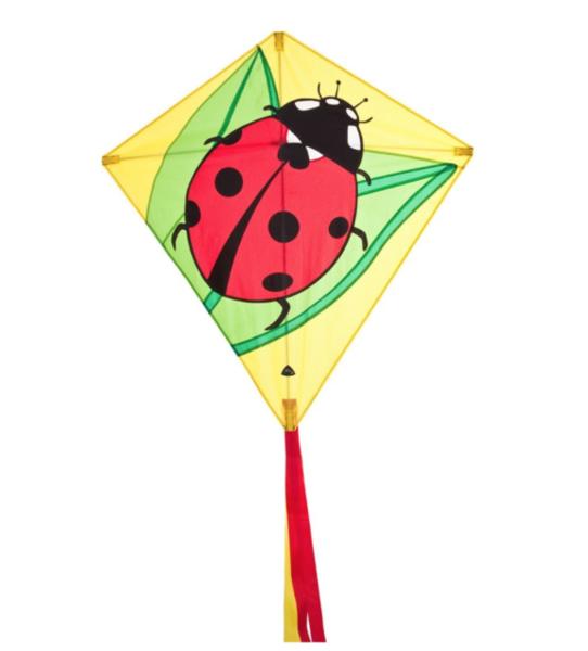 Ladybug Diamond by HQ Kites