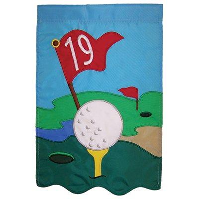19th Hole Garden Banner