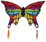 Rainbow Butterfly Kite by SkyDog Kites