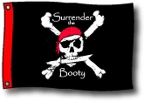 Surrender The Booty Flag
