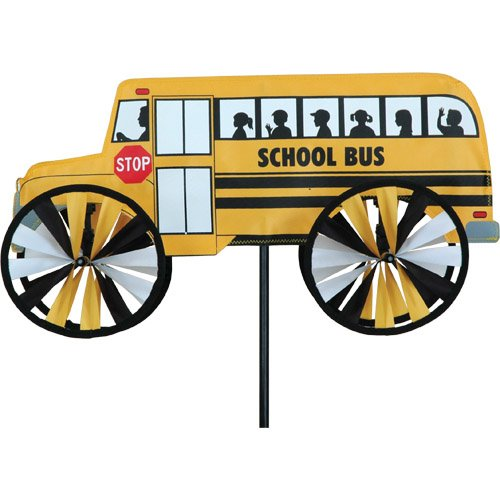 School Bus Small Spinner by Premier