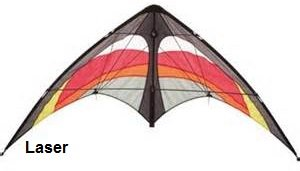 Yukon Stunt Kite by HQ Kites Laser