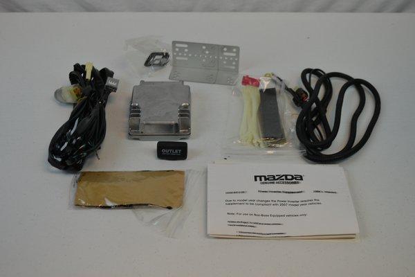 New Genuine Oem Mazda 3 Power Inverter Ac Outlet Plug
