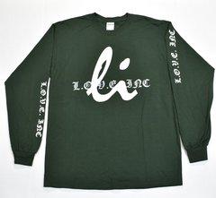 Green Long Sleeved Shirt