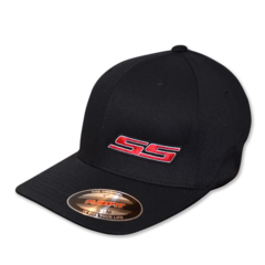 SS - Flexfit (Black/Black/Red/White)