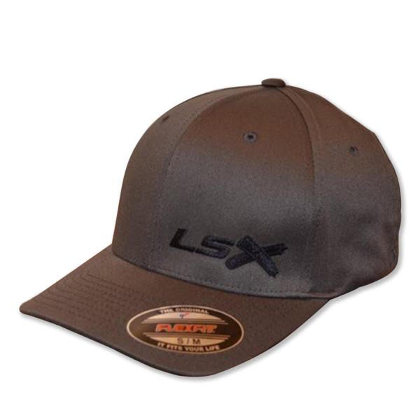 Procharger Hat Ls1: LSX - Flexfit (Charcoal/Black/Black/Black)