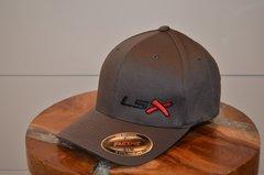 LSX - Flexfit (Charcoal/Black/Red/Black)
