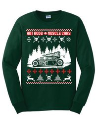 Hotrods Christmas Ugly Sweater - 2015