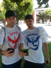 Pokemon Go Team Shirts
