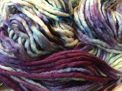 Chunky knit split Violet 50g